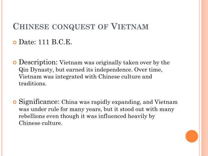 Chinese conquest of Vietnam