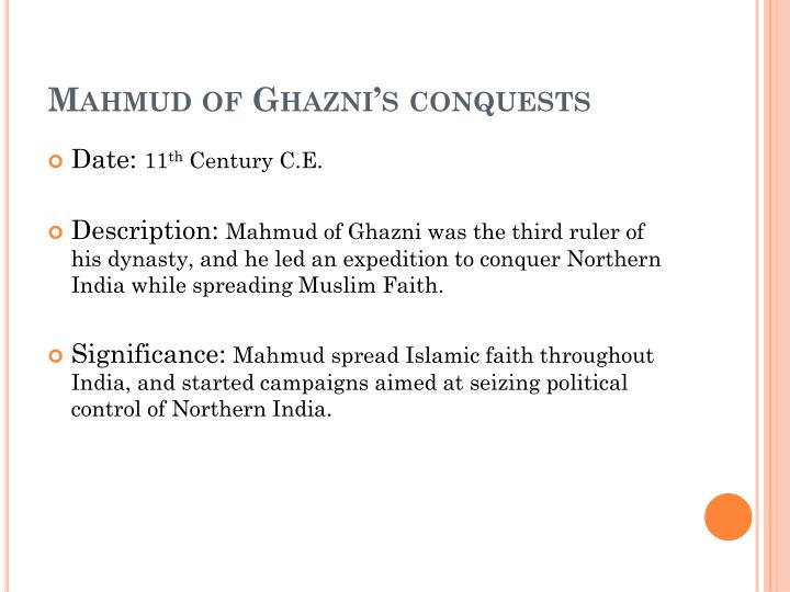 Mahmud of Ghazni's conquests
