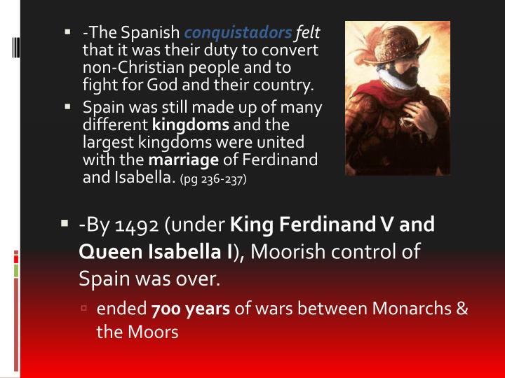 -The Spanish