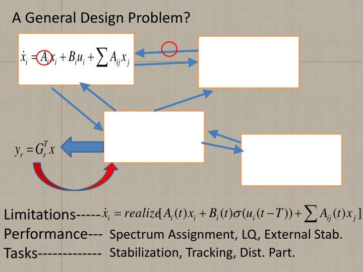 A General Design Problem?