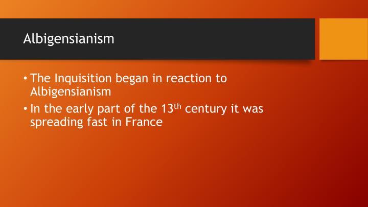 Albigensianism