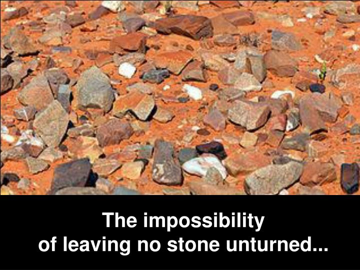 The impossibility