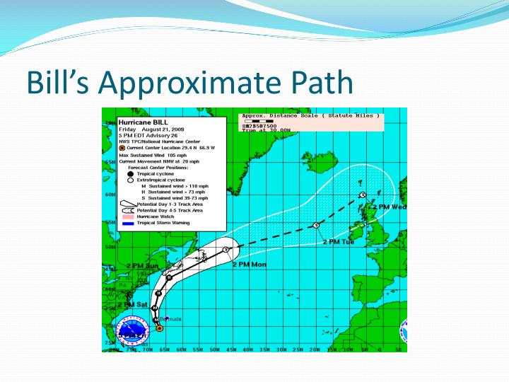 Bill's Approximate Path
