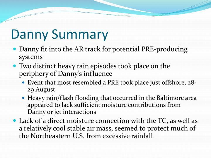 Danny Summary