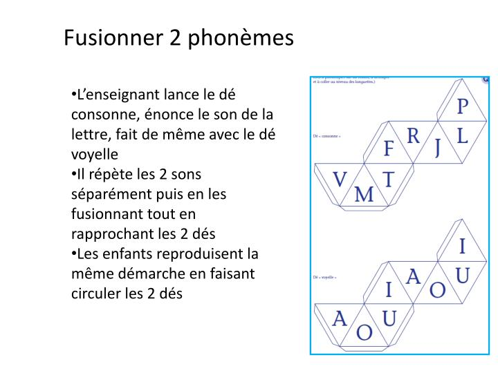 Fusionner 2 phonèmes