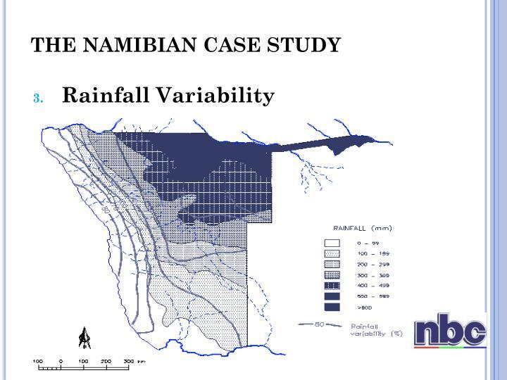 THE NAMIBIAN CASE STUDY