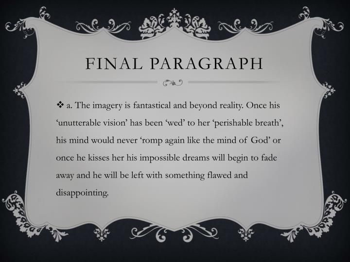 Final paragraph