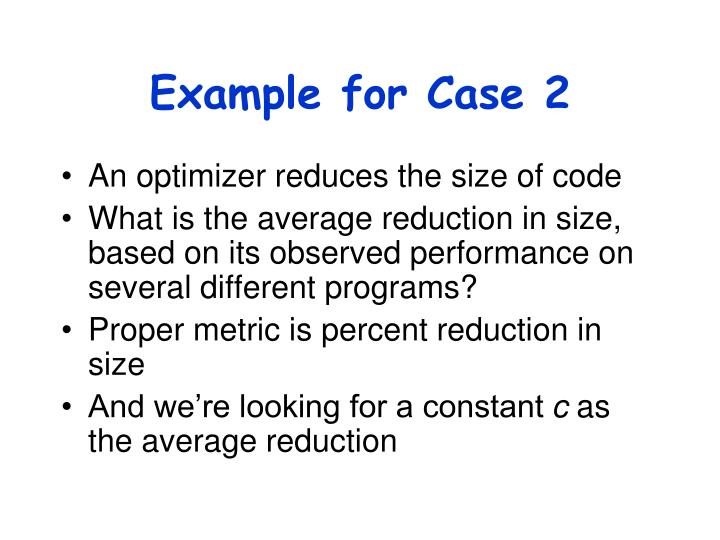 Example for Case 2