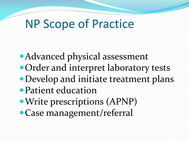 NP Scope of Practice