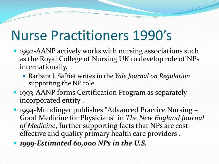 Nurse Practitioners 1990's