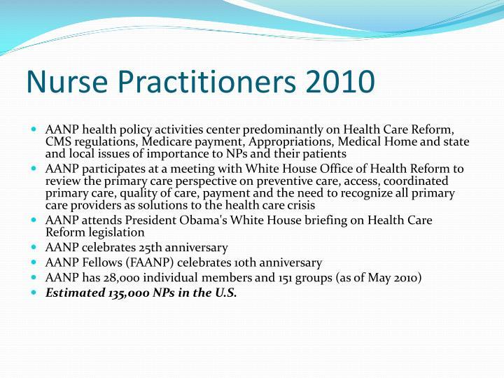 Nurse Practitioners 2010