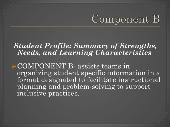 Component B
