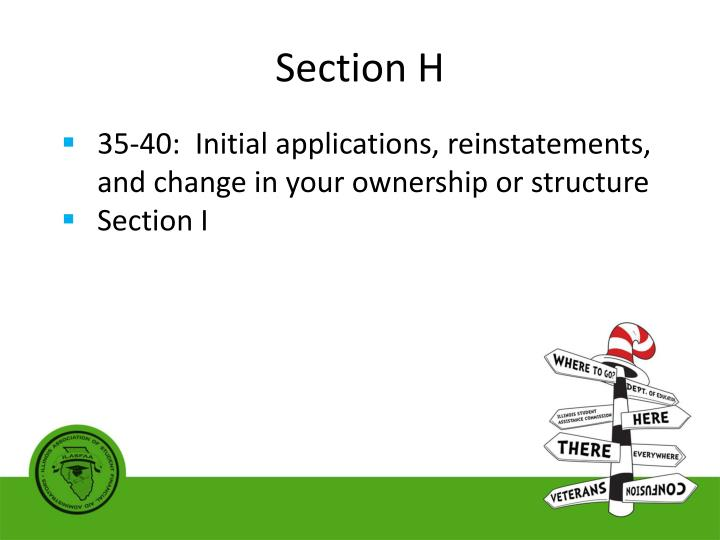 Section H
