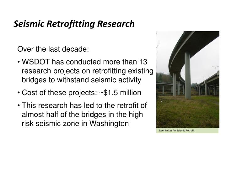 Seismic Retrofitting Research