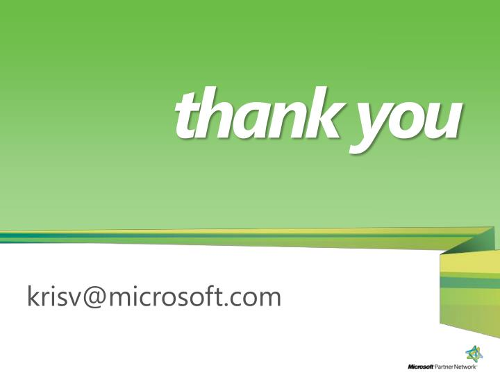 krisv@microsoft.com