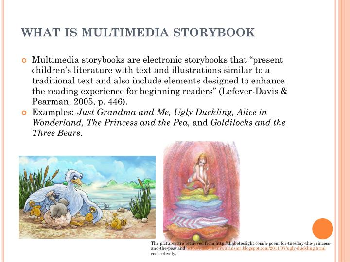 what is multimedia storybook