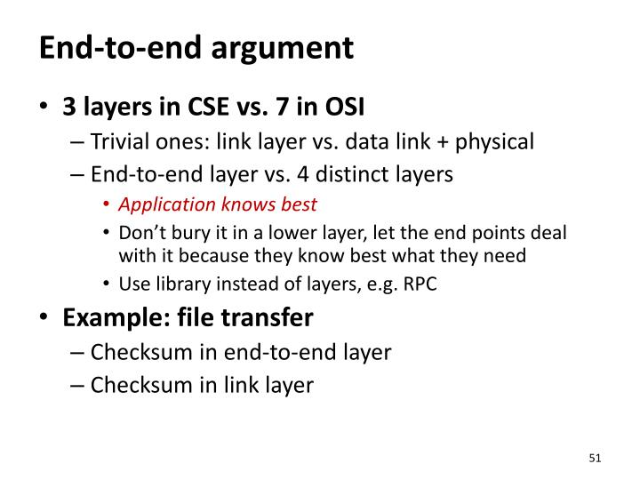 End-to-end argument