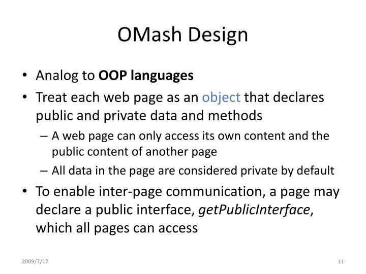 OMash