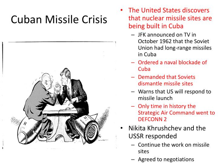 cuban missile crisis thesis paper During the time of the cuban missile crisis, not only were different governments clashing, but people within the us were questioning the soviet union's intents.