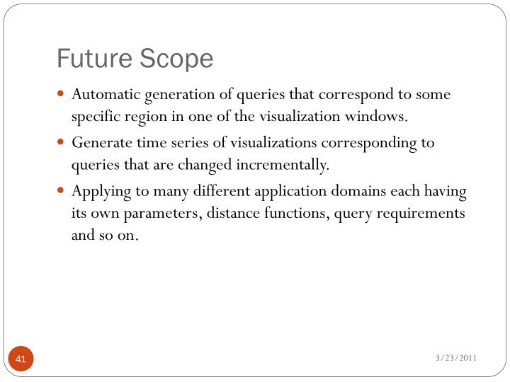 Future Scope