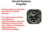 aircraft systems propeller21
