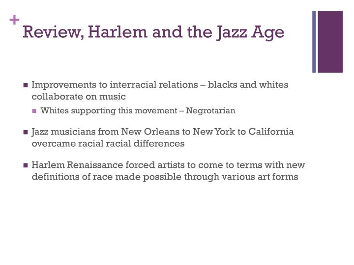 Review harlem and the jazz age1