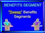 benefits segment