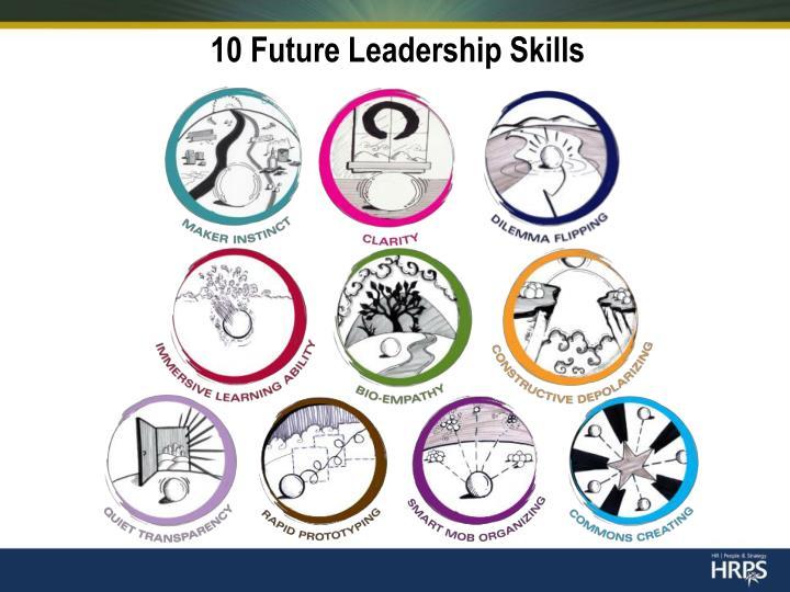 10 Future Leadership Skills