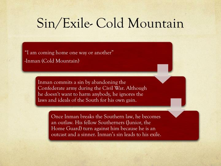 Sin/Exile- Cold Mountain