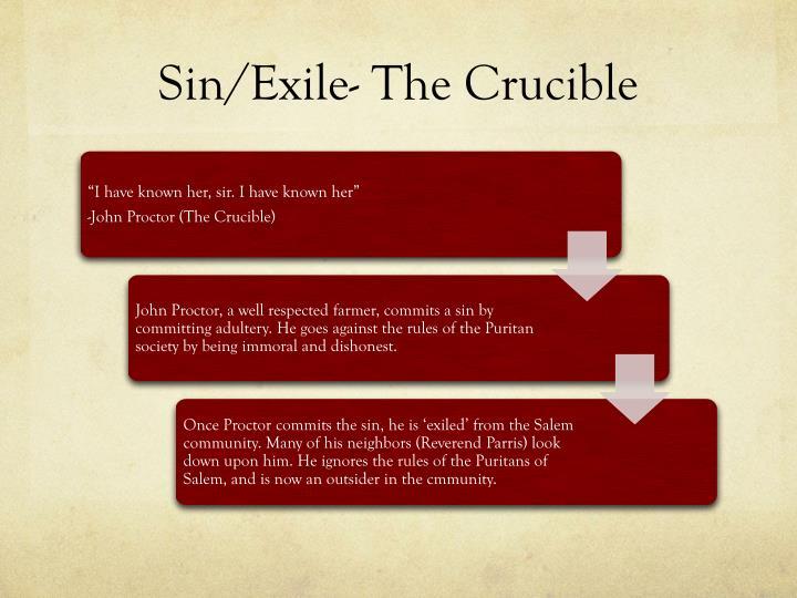 Sin/Exile- The Crucible