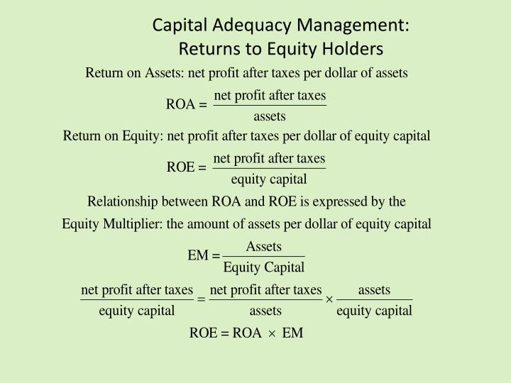Capital Adequacy Management:
