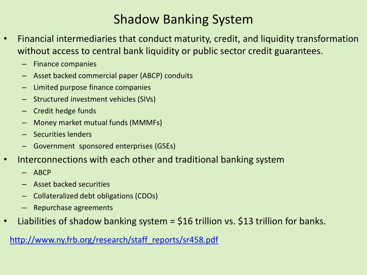 Shadow Banking System