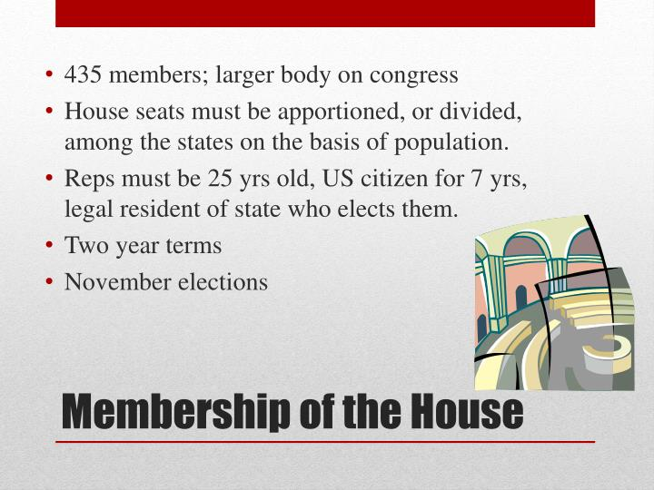 435 members; larger body on congress