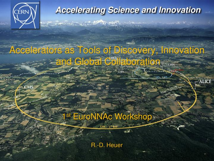 Accelerating Science and Innovation