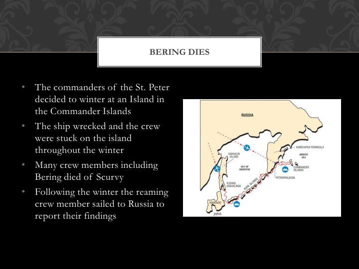 Bering Dies