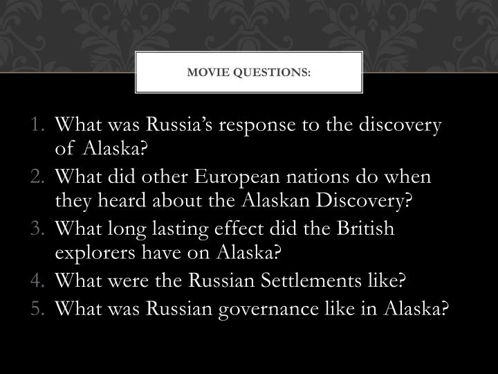 Movie Questions: