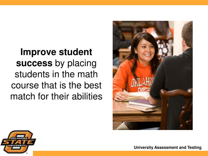 Improve student success