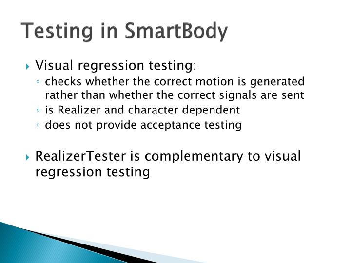 Testing in
