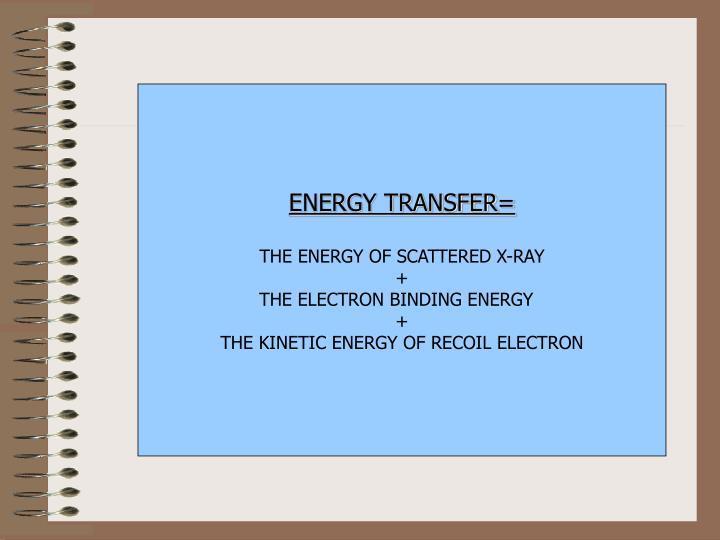 ENERGY TRANSFER=