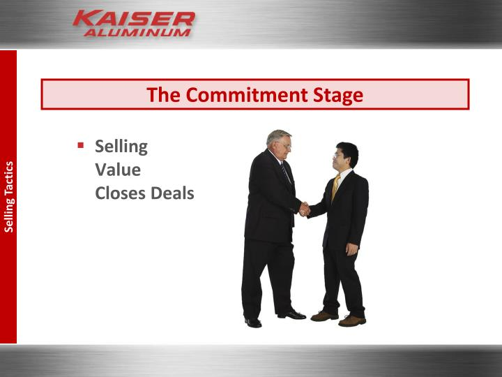 The Commitment Stage