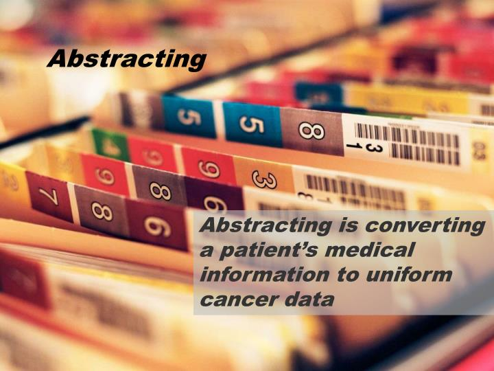 Abstracting