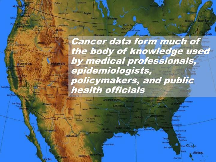 Cancer data