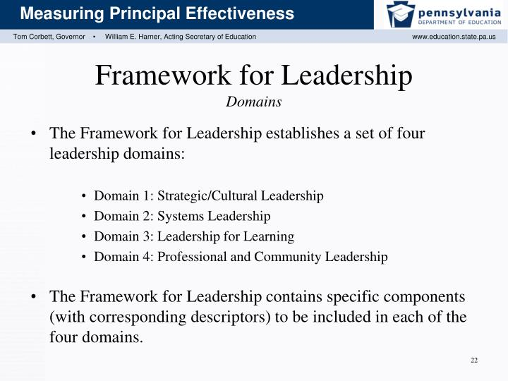 Framework for Leadership
