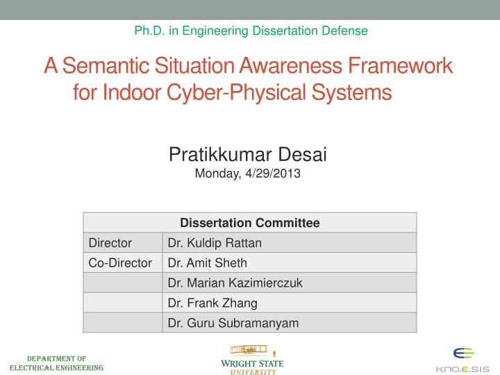 Ph.D. in Engineering Dissertation Defense