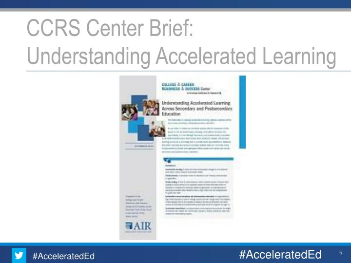 CCRS Center Brief: