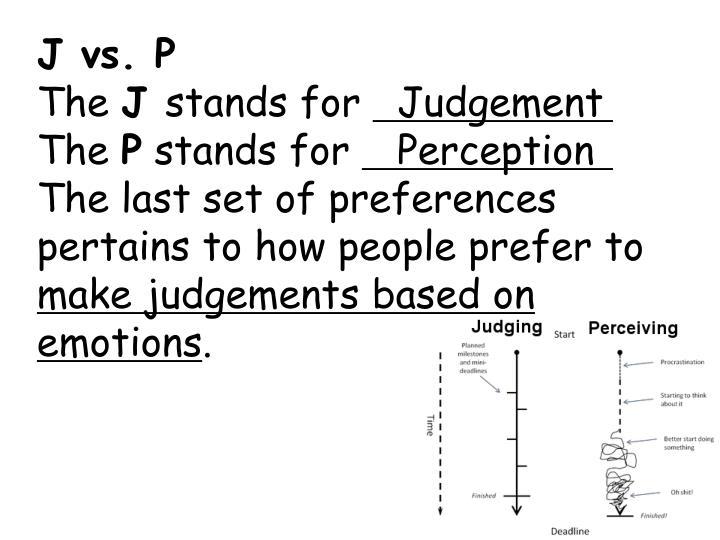 J vs. P