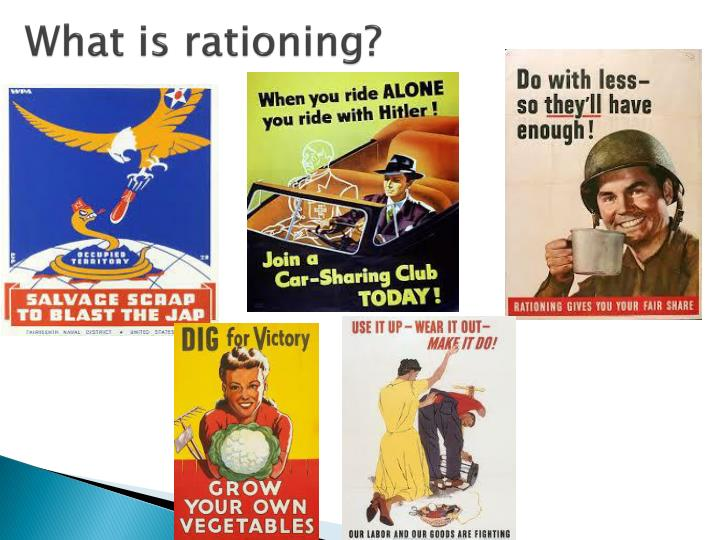What is rationing?