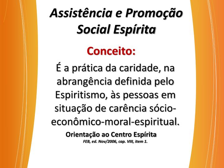 Assistência e Promoção