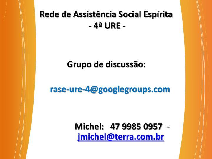Rede de Assistência Social Espírita