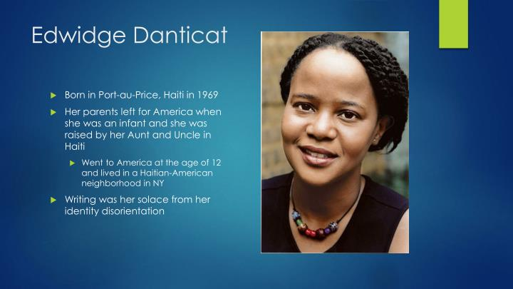 edwidge danticat krik krak Krik ,krak is a inspirational story based on womanhood and motherhoodthe ladies in the story were dealt the worst cards of them all and through it they kept their faith, their love and their traditions.